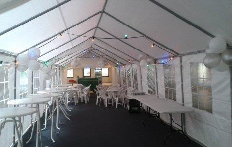 inrichting voor tent
