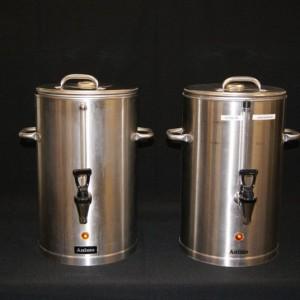 Koffieketels voor 20L koffie per ketel te huur in Nieuwegein