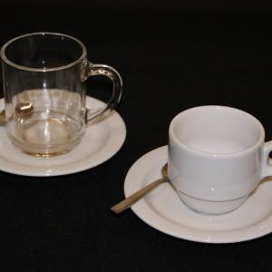 Koffie of thee kom met schotel huren in regio Utrecht