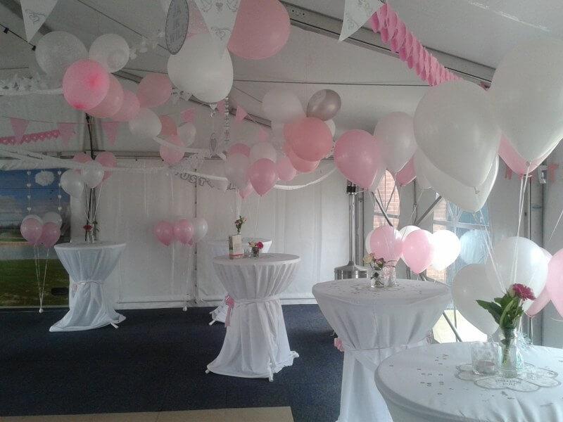Trosjes met ballonnen evenementen service nieuwegein - Home decoratie met tomettes ...