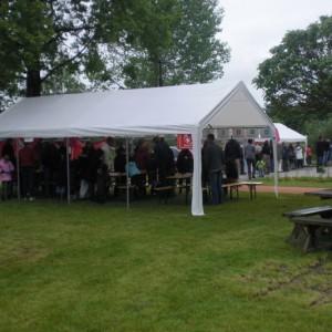 Tent 8x4 huren in de regio Utrecht