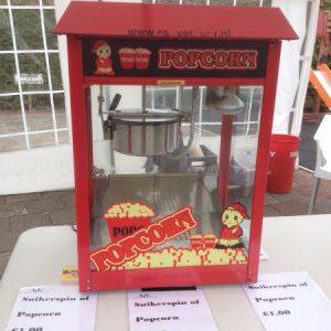 Popcorn machine te huur in de regio Utrecht