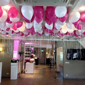 wit-en-fuchsia-ballonnenen