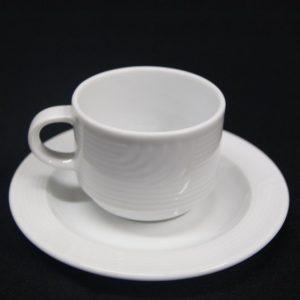 Koffiekopje met schotel Bauscher