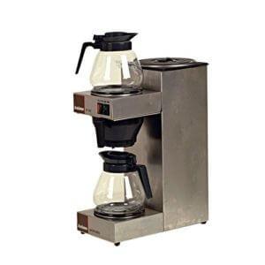 koffiezetter met 2 kannen